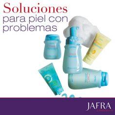 ¡Soluciones para piel con problemas! #Ajafracosmetics #jafra