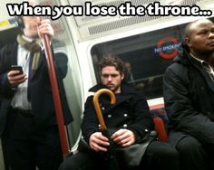When you lose the throne...