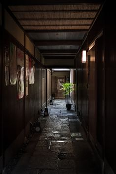 Alley in Kyoto, Japan