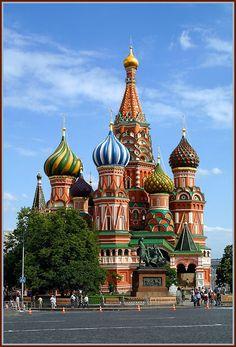 Храм Василия Блаженного. Москва. Россия