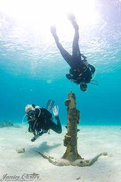 Exploring Bonaire w/ Belmar Oceanfront Apartments dive crew!!! (photo Janice Carter)