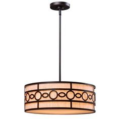 "$137 Turin 3-light Black Finish Pendant | Overstock™ Shopping - Great Deals on Design Craft Chandeliers & Pendants 18""L x 18""W x 51""H"