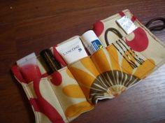 Tutorial: survival tasje voor in de handtas (bijvoorbeeld voor mascara/lippenstift).