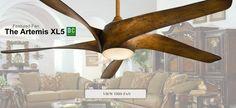 Featured Fan - Minka Aire Artemis