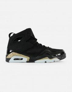 87d3dbe396d Nike Jordan True Flight Mens 342964-010 Black Cool Grey Basketball ...