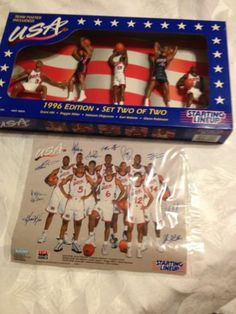 1996 USA Dream Team NBA Starting Lineup Edition