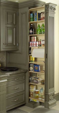 Pull out pantry charisma design