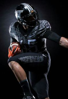 New Hokies stone uniform for the Bristol Motor Speedway game. Sept 10, 2016