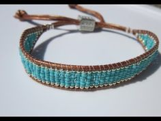 NETA_PORTER BRACELET. Chan Luu Turquoise and silver-beaded leather bracelet. БИРЮЗОВО-СЕРЕБРЯНЫЙ БРА
