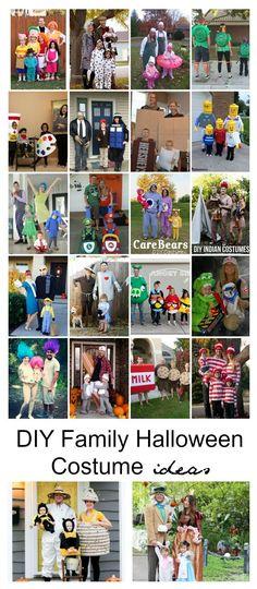 Halloween Ideas DIY Family Halloween Costume Ideas - The Idea Room