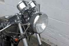 "Racing Cafè: Yamaha SR ""Cafè Racer"" by Indigo Custom Cycle"
