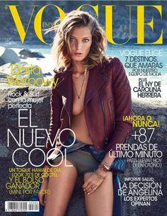 cool Vogue Espanha Julho 2013 | Daria Werbowy por Patrick Demarchelier  [Capa]