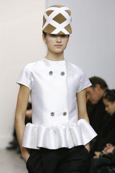 #BALENCIAGAfall2006 #Ivory #Silk #Jacket #Runway FR38  #NicolasGhesquiere  #Balenciaga #WHENBALENCIAGAWASCOOL