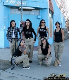 Cholas...white girl obsession #cholas