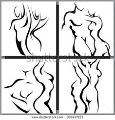 Nude Man And Woman Silhouette Stock Photos, Images, & Pictures | Shutterstock