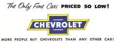 vintage Chevrolet ad copy