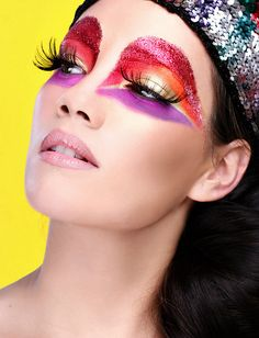 Make-up inspiration: Emeral Beautylife Cosmetics www.extreme-beautylife.nl