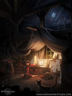 hidden loft