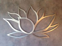 Lotus Flower Metal Wall Art Lotus Metal Art by INSPIREMEtals