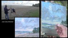 José SALVAGGIO plein air painting 04