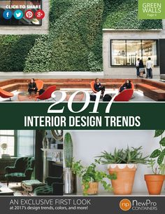 2017 Interior Design Trends Report by NewPro Containers - Free Download!