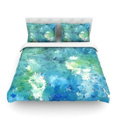 East Urban Home Sporatically by CarolLynn Tice Featherweight Duvet Cover Size: Full/Queen