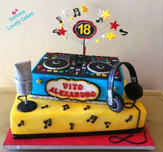 Music Cake DeeJay Cake