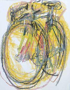 Bicyclepaintings.com - Greg's Bike Blind Drawing - 2