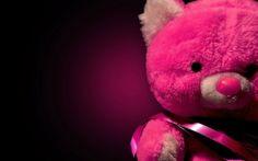 Pink Teddy Bear – HD Love Wallpaper