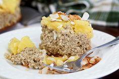 Upside Down Pineapple (Breakfast) Cake from The Healthy Foodie (http://punchfork.com/recipe/Upside-Down-Pineapple-Breakfast-Cake-The-Healthy-Foodie)