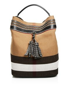 Burberry Ashby Tassel Whipstitch Hobo - 100% Bloomingdale's Exclusive