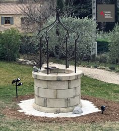 Back Patio, Provence, Fountain, Outdoor Decor, Gardens, Victorian Houses, Victorian, Wedding, Water Well