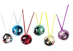 Disco ball necklaces from - Partypacks.co.uk