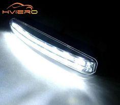 $3.57 (Buy here: https://alitems.com/g/1e8d114494ebda23ff8b16525dc3e8/?i=5&ulp=https%3A%2F%2Fwww.aliexpress.com%2Fitem%2FHot-sell-2pcs-lot-Super-White-8-LED-Daytime-Running-Lights-Drl-Light-Bar-Parking-Car%2F32597035156.html ) New 2X Auto Durable Car Daytime Running Light 8 LED DRL Daylight Super White DC 12V Head Lamp Parking Fog Lights free shipping for just $3.57