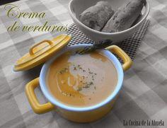 La Cocina de la Abuela: Crema de Verduras Casera.