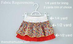 DIY The Twirling Whilst Standing Still Skirt