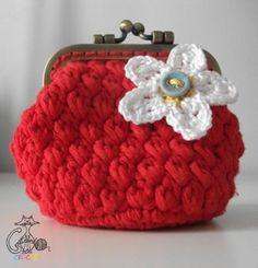 Gateando Crochet: Monedero Vintage