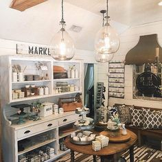 Vintage Styling Lessons From HGTV's Fixer Upper Couple: Love the idea of a flea market, but don't know where to start?