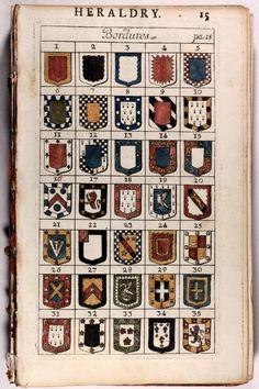 "michaelmoonsbookshop: "" Heraldry 1730 """