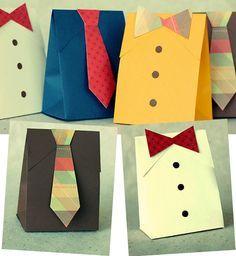 Feito Por Mim! O Artesanato Para Iniciantes!: Embalagens Artesanais para Presentes do dia dos Pais !