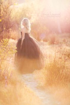 Glam Session with a Tulle Skirt | Orange County Glamour Photographer
