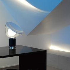 Flos Taccia Lamp by Achille Castiglioni - Mine is silver bottom and top is broken!!