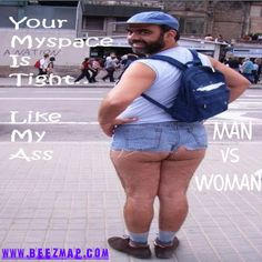 man vs woman Collage:     #beezmap