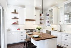 White Kitchen Cupboards Design DIY White Laminate Backsplash Also Wooden Flooring Ideas Rustic Kitchen, Kitchen Dining, Kitchen Decor, Dining Room, Stools For Kitchen Island, Kitchen Cupboards, Kitchen Sink, Best Kitchen Designs, Kitchen Collection