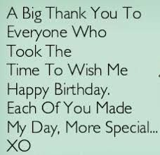 Thank You Quotes For Birthday Wishes 1