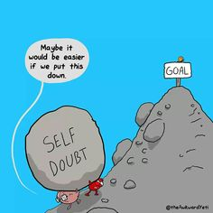 Self doubt never goes away.  Try anyway.