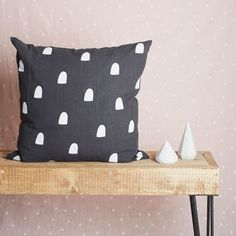 Holly's House - Charcoal Window Cushion http://www.hollys-house.com/collections/our-collection/products/charcoal-window-cushion