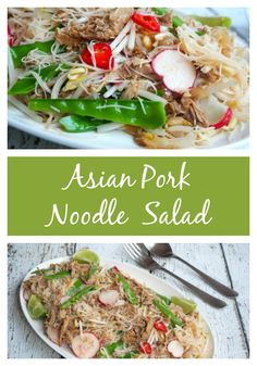 This salad is has oodles of noodles, is full of flavour and is a great way to upcycle leftovers. It's quick, easy and super versatile.