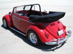 Just because I have always wanted one! 67 Volkswagen convertible