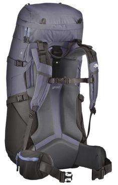 Wookey Design Studio   Outdoor Hiking Packs,  TNF Womens Terra 55 back